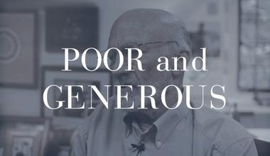 Poor and Generous