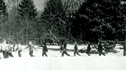 Children Playing In Snow Loop