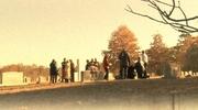 People In Cemetery Loop