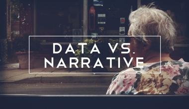 Data Vs. Narrative