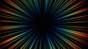 Rainbow Star Burst Effect