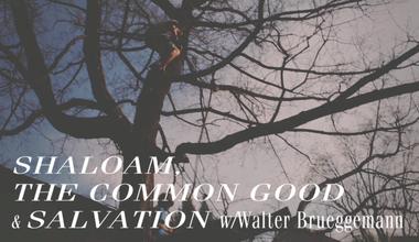 Shalom, The Common Good and Neighborhood