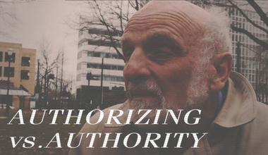 Authorizing Vs Authority